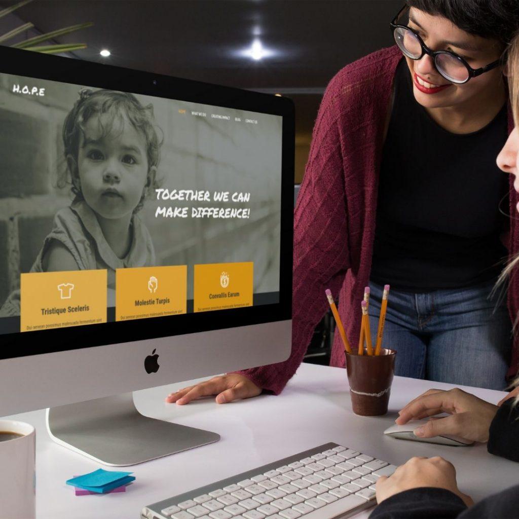 Diseño web para asociación